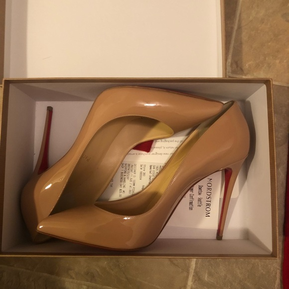12610967f8f Christian Louboutin Shoes - Nude Christian Louboutin Red Bottoms